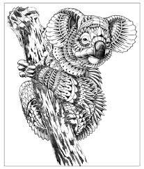 Disegni Da Stampare E Da Colorare Mandala Da Colorare Di Animali