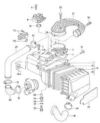 Online audi 5000 turbo spare parts catalogue usa market 1984 model year engine group air flow meter fuel metering valve air filter with connecting
