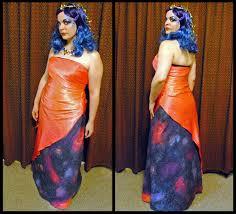 diy miss uniververse costume front back