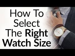 Mens Watch Case Size Chart 5 Rules To Buy The Right Size Watch For Your Wrist Proportions Wristwatch Case Band Size
