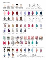 Wave Gel Matching Color Chart Whats On Your Color Street Wish List Teamsassytips In
