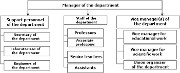 Information System Department Organizational Chart Figure 3 From Development Of Information Systems In Higher