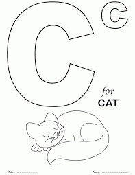 Learn the alphabet and words while coloring with our printable alphabet coloring pages. Free Printable Alphabet Coloring Pages Coloring Home