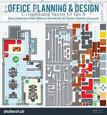 office plan software. office plan design template space planning and vector kit contains construction elements modern furniture software