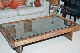 antique glass top coffee tables