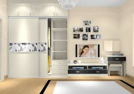 Bedroom Wardrobe With Tv Unit 2017 And Images Including Cabinet
