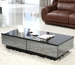 modern mirrored coffee table image of modern mirrored coffee table