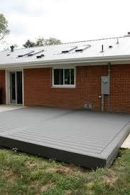 composite deck ideas. Contemporary Composite Low Profile Trex Deck Via House Tweaking And Composite Deck Ideas