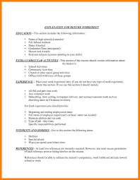 Activities Section Of Resume Resume For Study