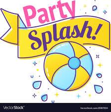 pool splash vector. Pool Splash Vector