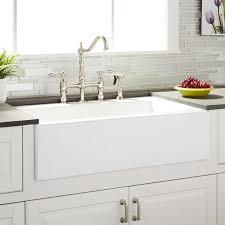 sinks farm house kitchen sink almeria cast iron farmhouse