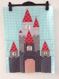 Fairy Tale Castle Pattern Now Available! | Blossom Heart Quilts & Aylin fairy tale castle Adamdwight.com