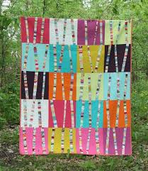 Tree Quilt Patterns New Bright Birch Trees Quilt Pattern Love To Sew