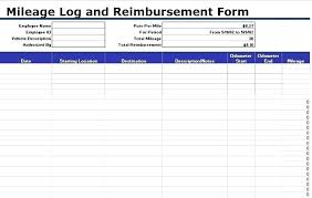 Irs Mileage Form Piliapp Co