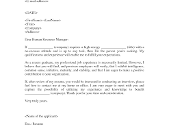 Human Resource Examples Cover Letter For Hr Position With No Experience Sample School 15