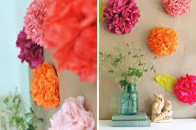 Tissue Paper Flower Wall Art Diy Tissue Paper Flower Backdrop