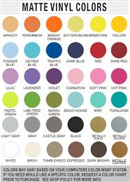 Yeti Color Chart Monogram Yeti Decal Or Monogram Car Decal 35 Colors Available