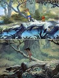 Image result for jungle book hundred acre wood scene