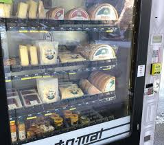 Cheese Vending Machine Magnificent A Cheese Vending Machine In Switzerland Bombify