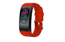 Фитнес-<b>браслет ZDK QW18</b>, красный — купить в интернет ...