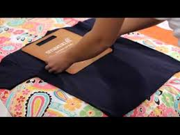 Folding Template For Clothes How To Fold A Shirt Using A Folding Board