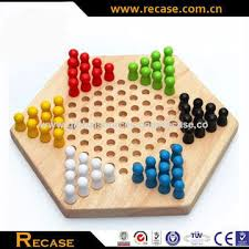 Wooden Game With Marbles China Developmental Wooden Hexagon Board Games from Dalian 91