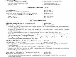 Alluring Pre K Teacher Resume Lovely Resume Cv Cover Letter