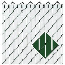 green chain link fence paint