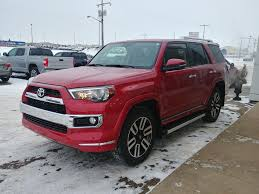 New 2018 Toyota 4Runner with Limited Package 7-Passenger 4 Door ...