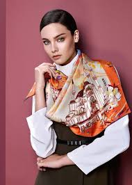 Designer Head Scarf Belts On Ways To Wear A Scarf How To Wear Scarves Scarf