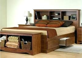 Queen Platform Bed With Storage Drawers High Platform Beds With ...