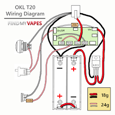 diy unregulated dual 18650 box mod kit wire vaping and boxes diy okl t20 box mod kit