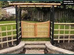 Small Picture Bamboo Fencing Ideas Fence Ideas And Designs YouTube