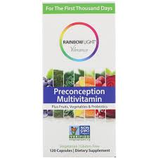 Rainbow Light Vibrance Women S One Reviews Rainbow Light Vibrance Preconception Multivitamin 120