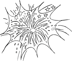 Small Picture Free Printable Fireworks Coloring Pages For Kids