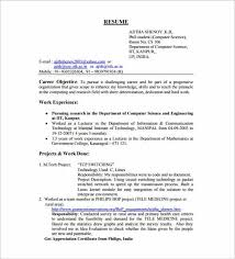 Mechanical Engineering Resume Template Impressive Resume Format For Mechanical Engineer Fresher Forteeuforicco