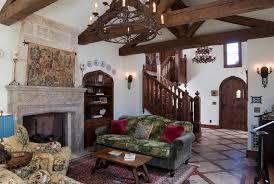whimsical english tudor bokal sneed architects traditional tudor living room