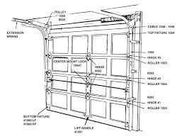 garage door release lock eye catching door design ideas