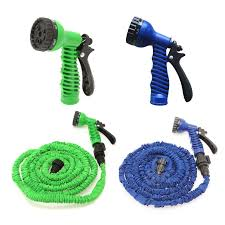 25 ft garden hose. Hot Selling High Quality Expandable Magic Flexible Hose Pipe 25 Ft - Garden With Spray