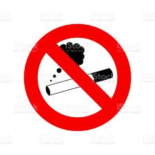 Sigara Işareti Yok Beyaz Arka Planda Sigara Yasağı Sembolü Stok Vektör  Sanatı & Balıkçılık'nin Daha Fazla Görseli - iStock