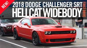 2018 dodge hellcat widebody. delighful 2018 2018 dodge challenger srt hellcat widebody first drive review test to dodge hellcat widebody