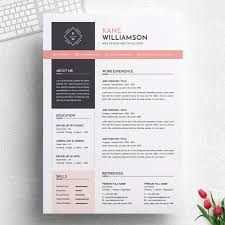 Professional Design Resume Professional Resume Template Ms Word Cv Design Template