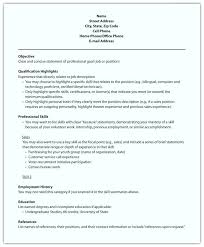 resume professional skills printing packaging and delivery job resume  computer skills