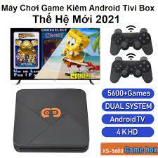 Máy Chơi Game Không Dây Kiêm Android Tivi Box SX 5600 - Tích Hợp 5600 Game  NAOMI / PSP / PS1 / FC / NES / N64 / NEO.GEO