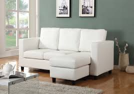 small sized furniture. Newport Cream Eco Leather Small Condo Apartment Sized Sectional Sofa With Reversible Chaise Furniture A
