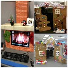 turn your cubicle into a gingerbread house
