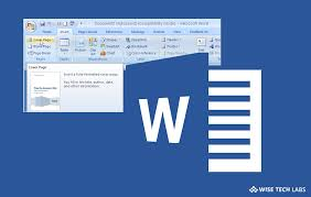 How To Create Custom Cover Pages In Microsoft Word 2016