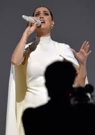 To Grammys Katy 2015 Psa President Segue Makes Obama Emotional OpOAx4
