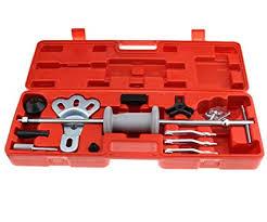 Micro Trader <b>16Pcs Slide Hammer</b> Bearing <b>Puller Kit</b> Rear Axle Dent ...