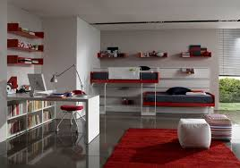 modern bedrooms for teenage boys. Modern Red Double Bed Teen Room Designs Bedrooms For Teenage Boys E